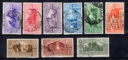 Italie YT N° 263/271 Oblitérés. B/TB. A Saisir! - 1900-44 Victor Emmanuel III