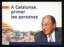 *Catalunya, Primer...* Convergència I Unió 1999. Nueva. - Partidos Politicos & Elecciones
