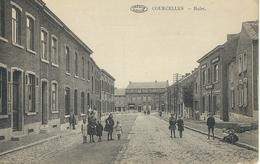 COURCELLES : Hulet - TRES RARE CPA - Courcelles