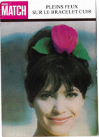 PUBLICITE PARIS MATCH BRACELETS CUIR 1963 PP LEVALLOIS PERRET - Advertising