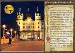 1 AK Germany Mecklenburg-Vorpommern * Chronikkarte Vom Schweriner Schlossgeist Petermännchen * - Schwerin