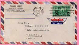 Air Mail - Letter - US (Idaho Falls) - Austria, 1960., United States - Posta Aerea