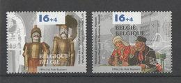 België Nrs. 2624/25 Xx  -  Promotie Van De Filatelie  -  Postprijs - Belgien