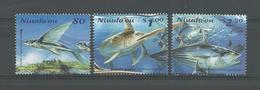 Tonga Niuafo'ou 2001 Flight Of The Fish  Y.T. 285/287  (0) - Tonga (1970-...)