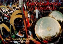 POSTAL DE CARTAGENA, (MURCIA), ESPAÑA, FIESTAS DE CARTHAGINESES Y ROMANOS AÑO 2000. (338) - Felicitaciones (Fiestas)