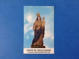 Santino - Holy Card - Maria SS. Delle Grazie - Santini