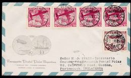 1965 Cover From The Chilean Island - Juan Fernandez- Sent To Portsmouth, England. - Chile