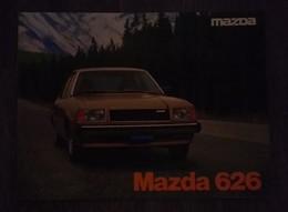 MAZDA 626 RARE LIVRET DE PRÉSENTATION  ORIGINAL - VOITURE ANNEE 80 - Voitures