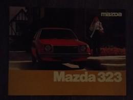 MAZDA 323 RARE LIVRET DE PRESENTATION  ORIGINAL - VOITURE ANNEE 80 - Voitures