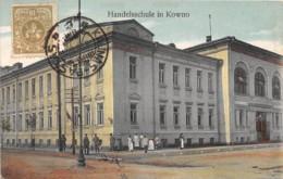 Lituanie / Belle Oblitération - 27 - Handelsschule In Kowno - Lituanie