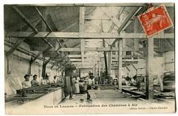 CPA 45 Loiret Chalette Usine De Langlée Fabrication Des Chambres à Air Animé - France
