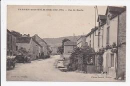 CPA 21 VERREY SOUS SALMAISE Rue Du Moulin - Otros Municipios