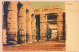 POSTAL ANTIGUA DE EGIPTO, KARNAK. (347) - Historia