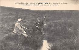 Plateau De MILLEVACHE - Sources De La Vienne - Très Bon état - Autres Communes