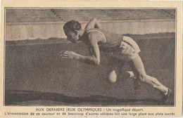 Athlétisme, Sprint: Aux Derniers Jeux Olympiques, Un Magnifique Départ - Carte Non Circulée - Athlétisme