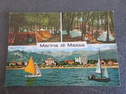 CPSM Multivues - MARINA Di MASSA - Massa