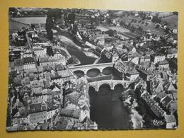 12 Espalion, Vue Aérienne Sur Les Deux Ponts Et Le Lot (GF436) - Espalion
