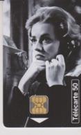 TELECARTE -  TELEPHONE ET CINEMA - JEANNE MOREAU - 50 Unités - Frankreich