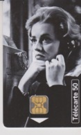 TELECARTE -  TELEPHONE ET CINEMA - JEANNE MOREAU - 50 Unités - Frankrijk