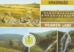 12/FG/18 - REPUBBLICA CECA - KRKONOSE PRAMEN LABE: Vedutine - Repubblica Ceca