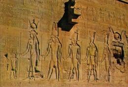 POSTAL DE EGIPTO, DENDERA, PROCESSION OF GODS ON THE SOUTH WALL. (343) - Historia