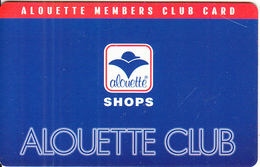 GREECE - Alouette Shops, Member Card, Sample - Other Collections