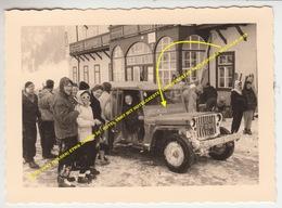 PHOTO VENT (SOLDEN) ETWA JAHREN 50 / HOTEL VENT MIT HOTELGAESTE / LINIENVERKEHR ORTSVERKEHR OTZTALER JEEP - Sölden