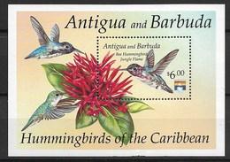 "ANTIGUA & BARBUDA 1992 ""hummingbirds"" - Hummingbirds"