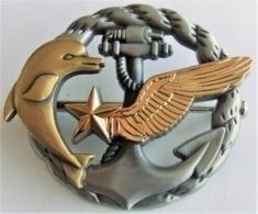 Insigne PLONGEUR HELICOPTERE Marine AERO - Marine