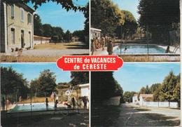 CERESTE Centre De Vacances  - Colonie  SNCF - Non Classés