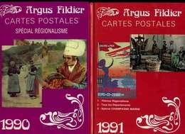 2 Argus FILDIER 1990 Et 1991, Neufs - Books