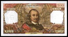 100F Corneille  02.03.78 - H 1175 - NEUF - Fay : 65.62 - 1962-1997 ''Francs''