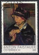 Autriche 2015 Oblitéré Used Peinture Lady With Dark Hat De Anton Faistauer SU - 2011-... Usados