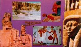 POSTAL DE EGIPTO, THEBES 5. (375) - Historia