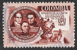 Colombia - Scott #C302 Used - Colombia