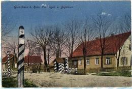 Grenzhaus Bei Russ. CROTTINGEN U. Bajohren (Memel Land) - Ostpreussen