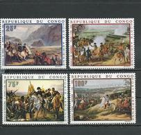 CONGO Scott C78-C81 Yvert PA80-PA83 (4) *VLH Cote 11,00 $ 1969 - Congo - Brazzaville