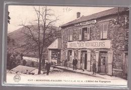 43 Monistrol D'allier L'hôtel Des Voyageurs édit. MB N° 8517 Animée Changement De Propriétaire - Frankreich