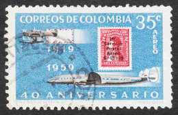 Colombia - Scott #C347 Used (1) - Colombia