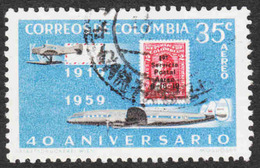 Colombia - Scott #C347 Used (2) - Colombia