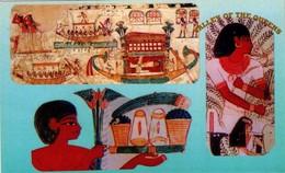 POSTAL DE EGIPTO, THEBES 12. (378) - Historia