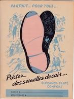 S C/ Protège-cahiers Semelles De Cuir - Protège-cahiers