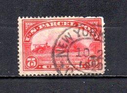 EEUU   1912  .   Y&T  Nº    11    Colis    ( Falta Punta ) - United States