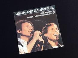 Vinyle 45 Tours Simon And Garfunkel Mrs Simon (1982) - Rock