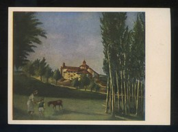 *Juan Commeleran - La Ermita* Ed. Artigas. Pintores Esp. Contemporáneos Col. B Serie 1005. Nueva. - Pintura & Cuadros