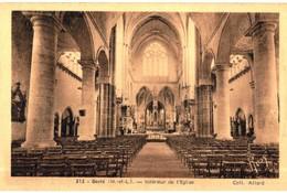 CPA N°24002 - GESTE - INTERIEUR DE L' EGLISE - France