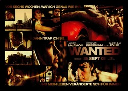 POSTAL DE AUSTRIA, DE CINE, PELICULA: WANTED (ANGELINA JOLIE). (354) - Kino & Film