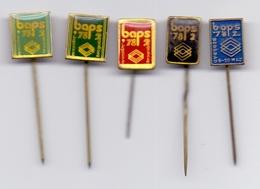 5 Pins Pin Badge World Championship Yugoslavia Belgrade 1978.,Beograd 78 , Amateur Boxing - Habillement, Souvenirs & Autres