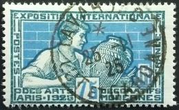 1924 France Yt:FR 214, Mi:FR 175 - Paris- Art Exhibition - Belle Oblitération Lot Et Garonne - France