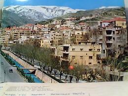 LIBANO LIBAN LEBANON ZAHLEH VEDUTA SCORCIO N1970 GX5809 - Libanon